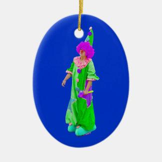 clown christmas tree ornament