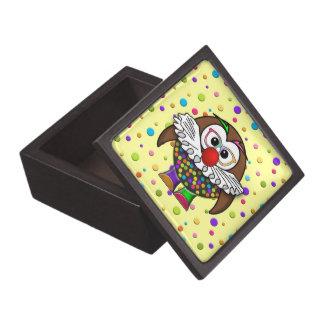 clown owl jewelry box