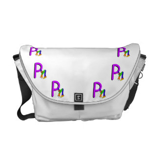 Clown P.png Messenger Bags