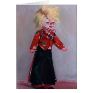 Clown/Pallaso/Clown Card