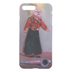 Uncommon iPhone 7 Plus Clearly™ Deflector Case with Xoloitzcuintli Phone Cases design