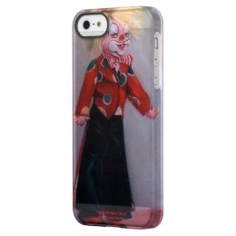 Clown/Pallaso/Clown Permafrost iPhone SE/5/5s Case