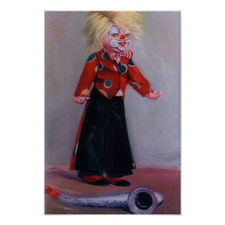 Clown/Pallaso/Clown Poster