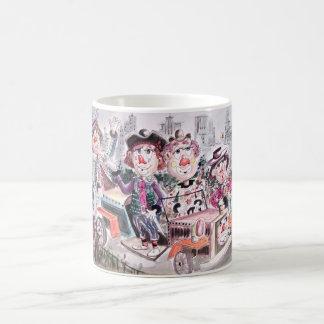 Clown Parade Coffee Mug