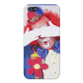 Clown Peekaboo Cover For iPhone SE/5/5s