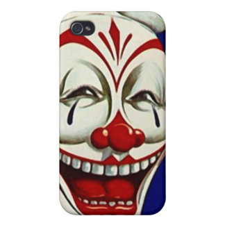 Clown Performer Happy LOL circus art iPhone 4 Case