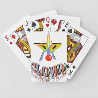 CLOWN playingcard Playing Cards