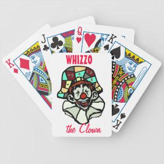 Clown Poker Cards
