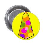 Clown Polkadot Gumball Tie Pins