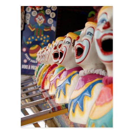 Clown Postcards
