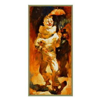 Clown poster painting  10