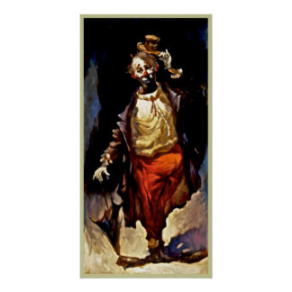 Clown poster painting  13