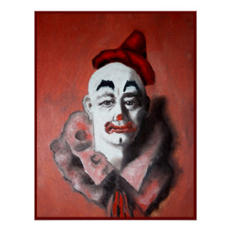 Clown poster painting  7
