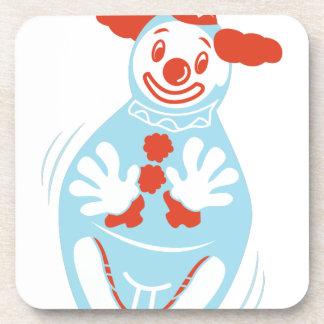 Clown Punching Bag Coaster