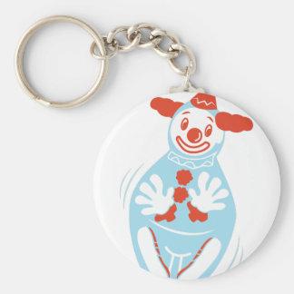 Clown Punching Bag Keychain