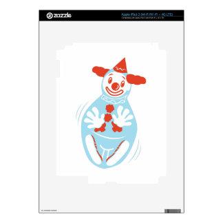 Clown Punching Bag Skin For iPad 3