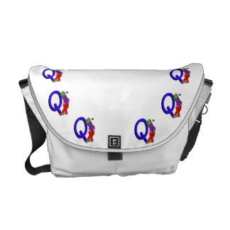 Clown Q.png Courier Bag