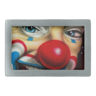 Clown Rectangular Belt Buckle