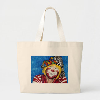 Clown Ron Maslanka AKA Sam The Clow Large Tote Bag