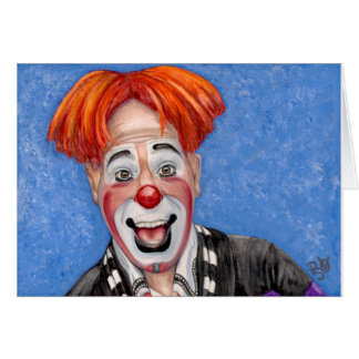 Clown Ryan Combs Greeting Cards