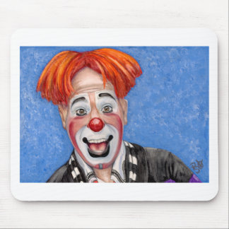 Clown Ryan Combs Mouse Pad