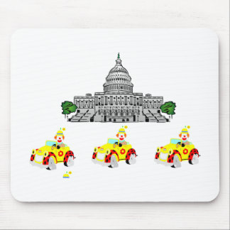 CLOWN SCHOOL MOUSE PAD