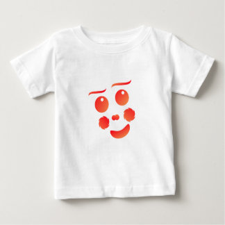 Clown shape face fun design baby T-Shirt