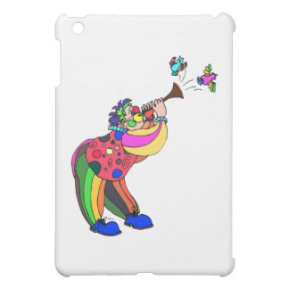 Clown singing to birds cover for the iPad mini