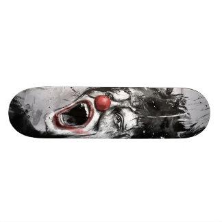 clown skateboard decks