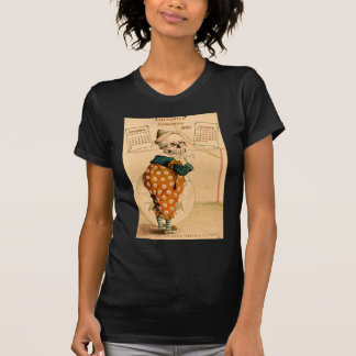 Clown Skeleton Vintage Illustration Shirts