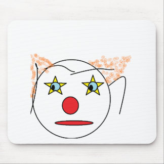 Clown Sketch Mouse Pad