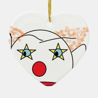 Clown Sketch Ornament