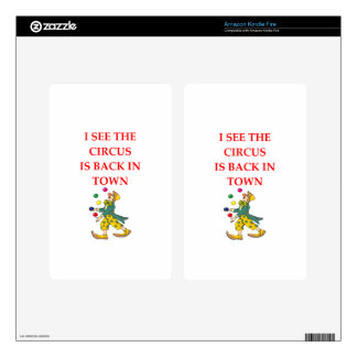 clown skins for kindle fire