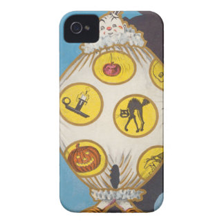 Clown Skull Black Cat Witch Jack O Lantern iPhone 4 Cover