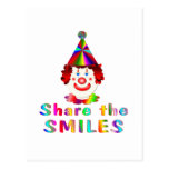Clown Smiles Post Cards