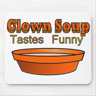 Clown Soup Mouse Pad