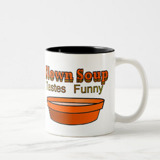Clown Soup Two-Tone Coffee Mug