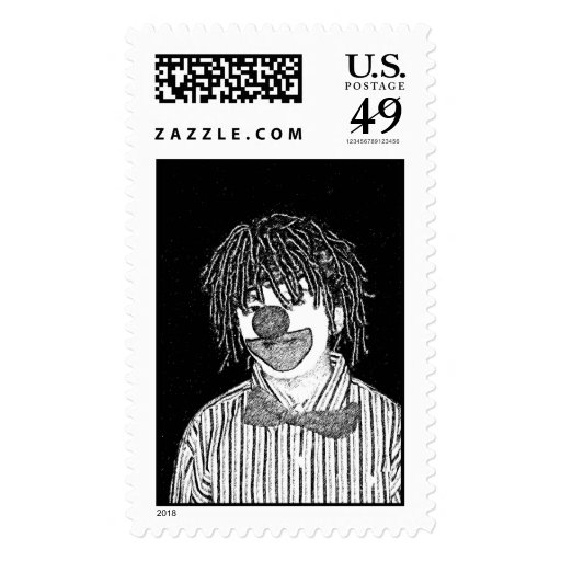 Clown Stamps