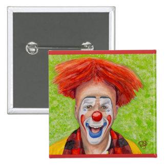 Clown Steven Daniel Copeland Button