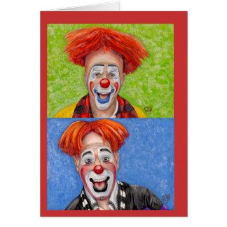 Clown Steven Daniel Copeland Cards