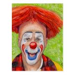 Clown Steven Daniel Copeland Post Cards