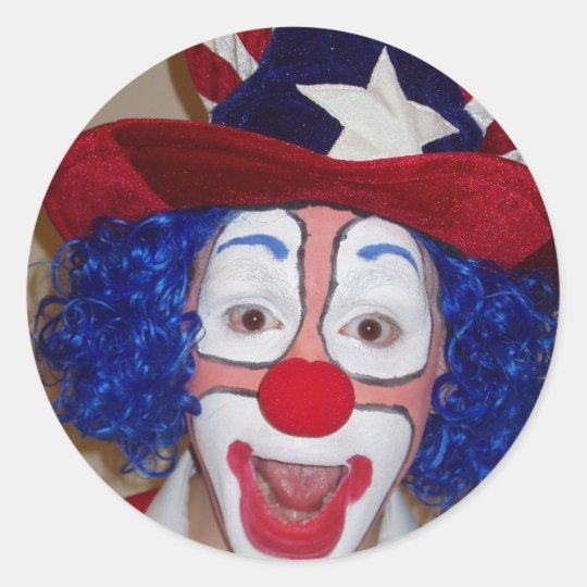 Clown Sticker Julius the Fourth