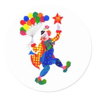 Clown Stickers sticker