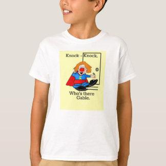 Clown Super Hero Knock-Knock Joke T-Shirt
