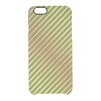 Clown Tang Stripes Clear iPhone 6/6S Case