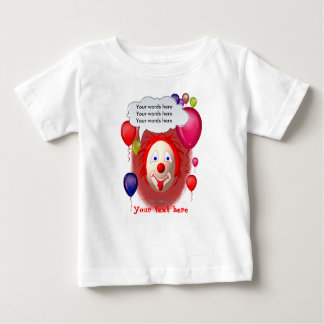 Clown Theme Party Baby T-Shirt