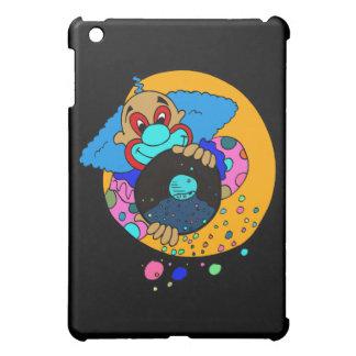 Clown throwing confetti case for the iPad mini