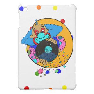 Clown throwing confetti iPad mini case