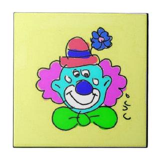 Clown Tótó I Ceramic Tile