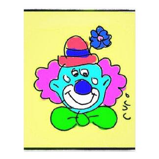 Clown Tótó I Papel De Carta